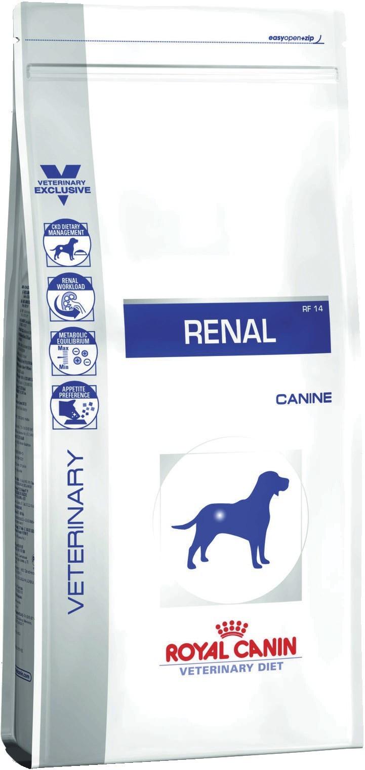Royal Canin сухой корм для взрослых и пожилых собак всех пород при заболеваниях почек (14 кг) royal canin сухой корм royal canin diabetic canine ds37 для собак при ожирении 2 й стадии или при сахарном диабете