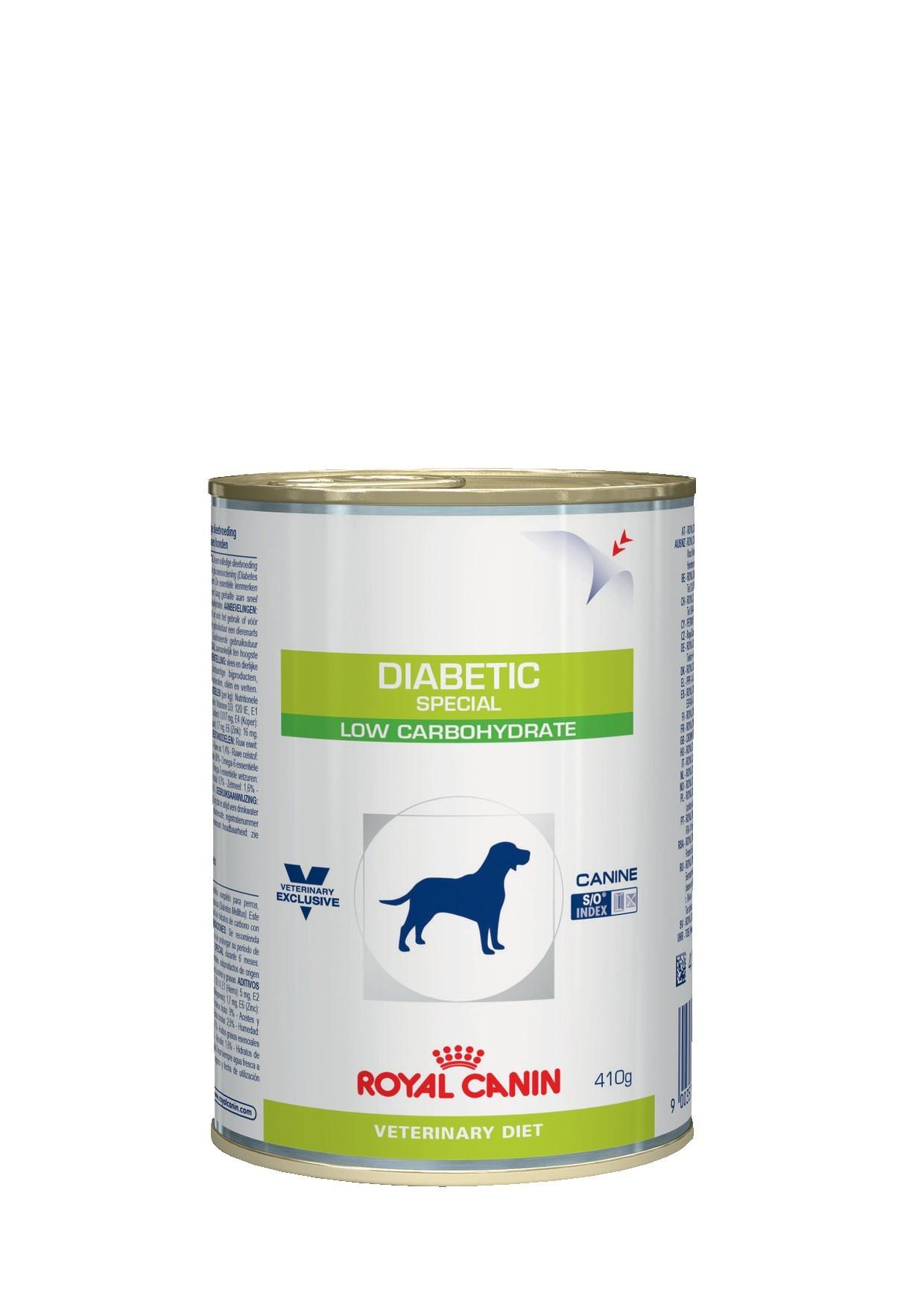 Royal Canin консервы для взрослых и пожилых собак всех пород, при сахарном диабете (400 гр) royal canin сухой корм royal canin diabetic canine ds37 для собак при ожирении 2 й стадии или при сахарном диабете