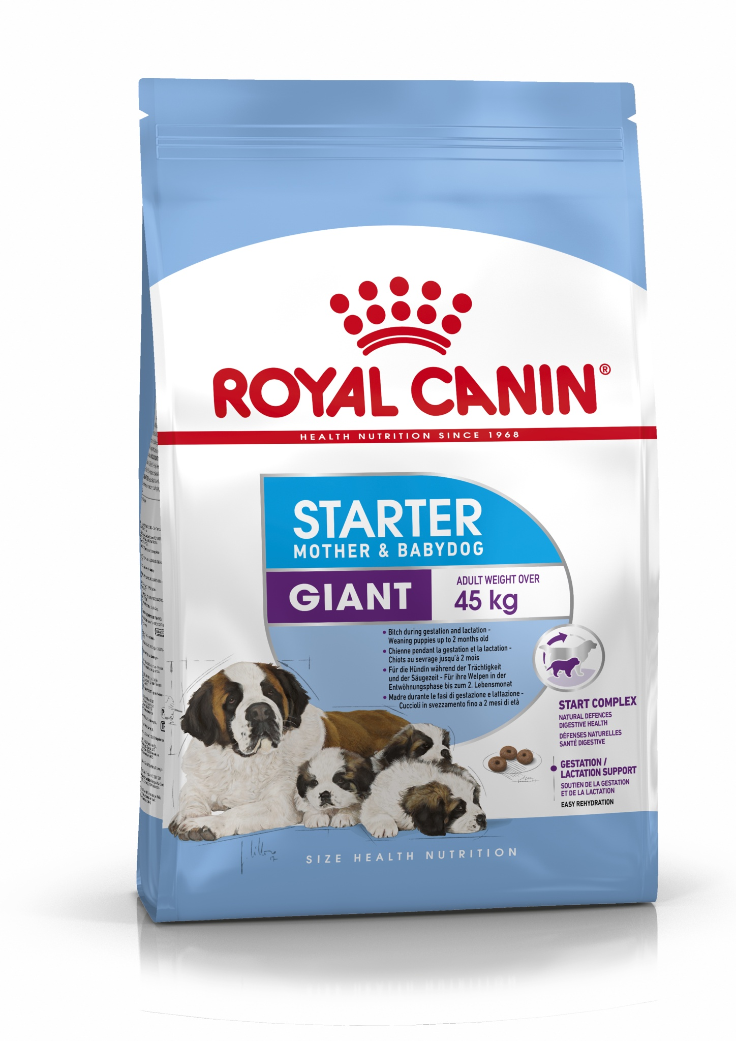 Royal Canin корм для щенков крупных пород до 2-х месячного возраста (15 кг) цена и фото