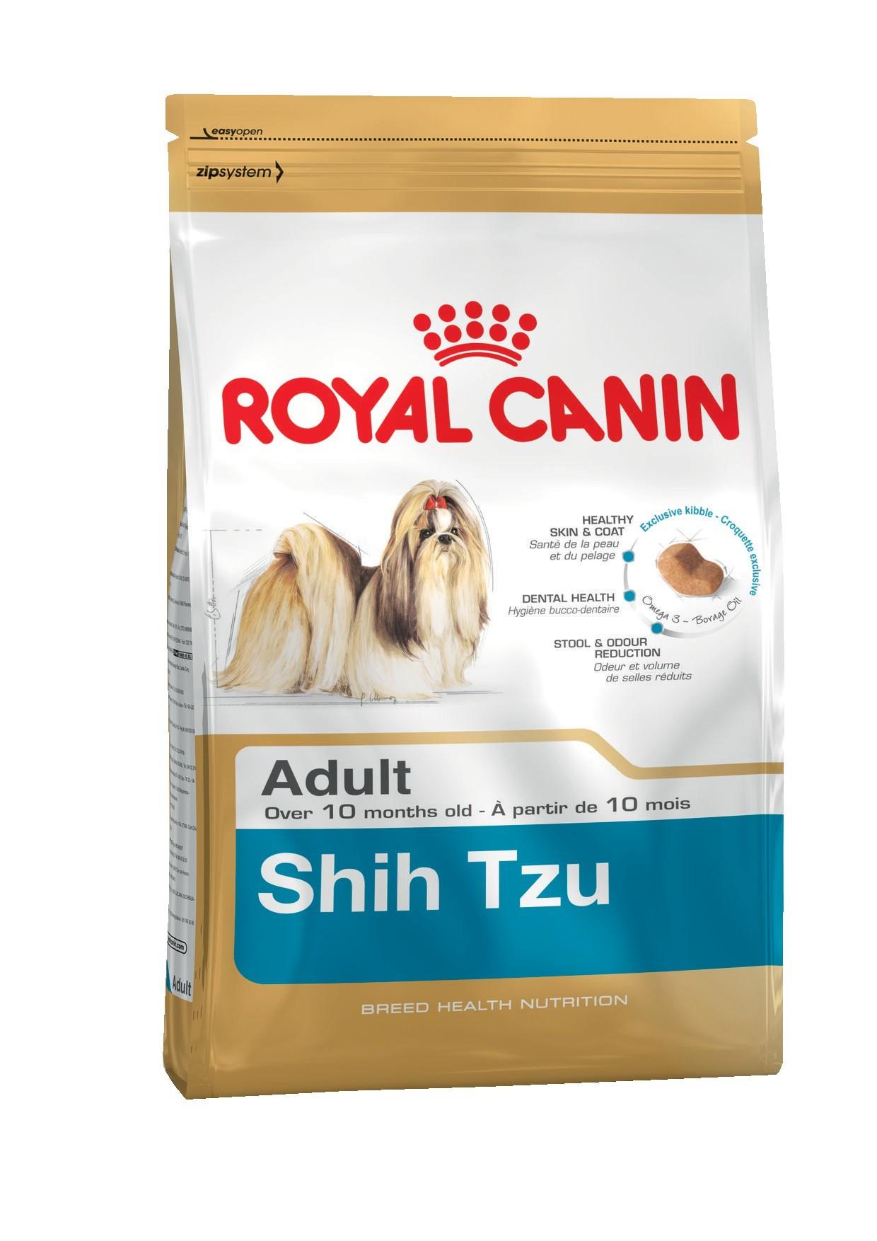 Royal Canin корм для взрослой собаки породы Ши Тцу (500 гр) подушка ши тцу