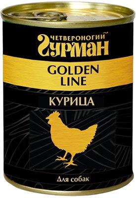 Четвероногий Гурман консервы для взрослых собак всех пород курица натуральная в желе (340 гр) консервы для собак четвероногий гурман с рубцом в желе 240 г