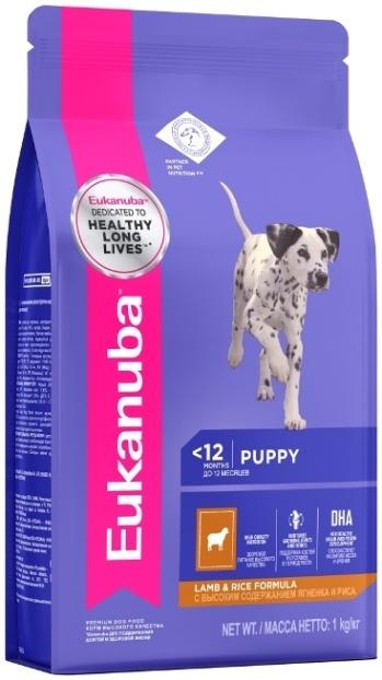 Eukanuba корм для щенков всех пород, ягненок (12 кг)