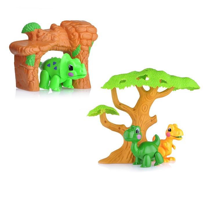 Набор животных T25 Динозавры, в коробке