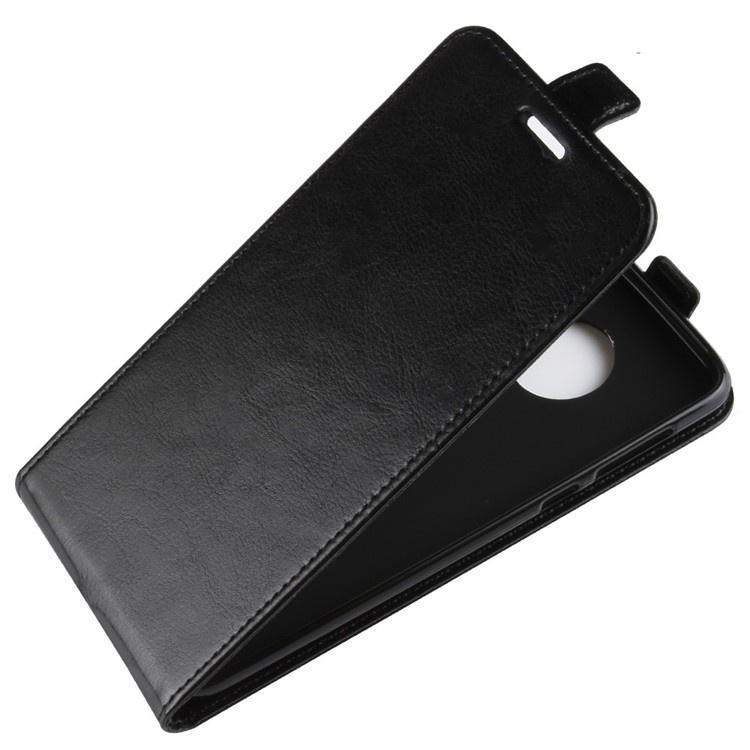 Чехол-флип MyPads для Motorola Moto G6 вертикальный откидной черный