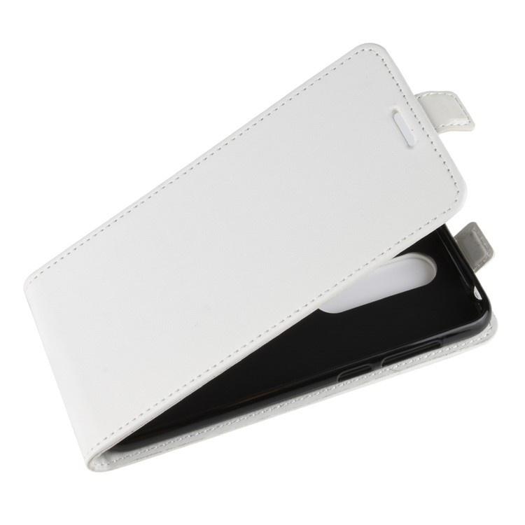 Чехол-флип MyPads для Nokia X6 / Nokia 6.1 Plus вертикальный откидной белый