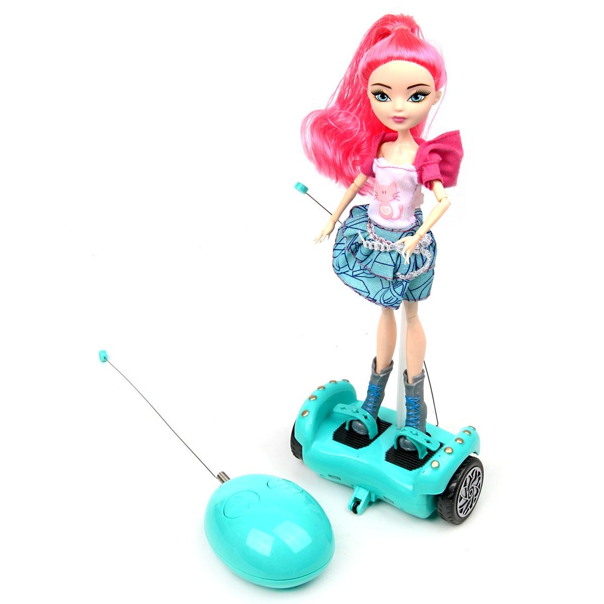 Кукла, 35 см. на гироскутере veld co кукла цвет одежды бежевый розовый