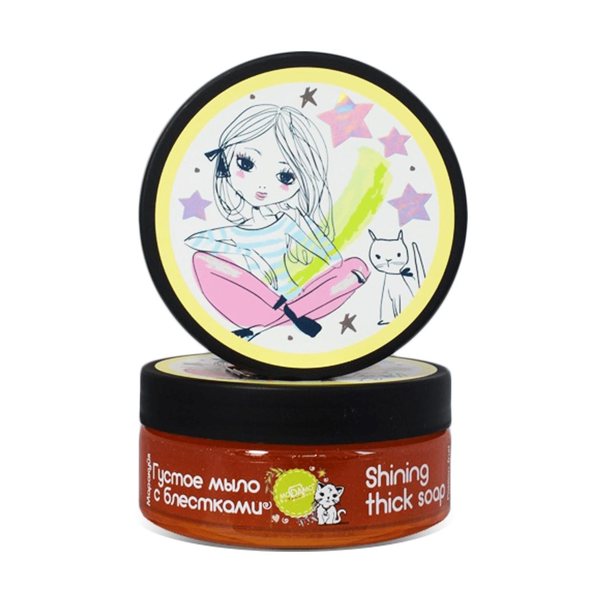 Мыло густое с блестками Маракуйя мыло с колд кремом авен