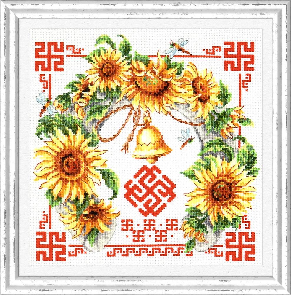 Гармония и взаимопонимание. Набор для вышивания крестом (Чудесная игла) 26 х 26 см. набор для вышивания крестом чудесная игла яркое сияние 8 х 11 см