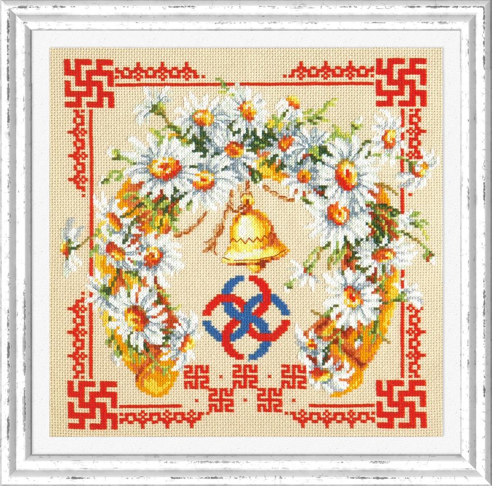 Любовь и верность. Набор для вышивания крестом (Чудесная игла) 26 х 26 см. набор для вышивания крестом чудесная игла яркое сияние 8 х 11 см