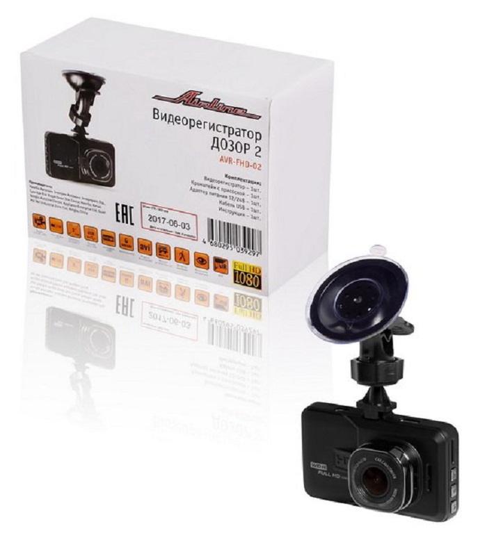 Видеорегистратор FHD 1080p ДОЗОР 2 (AVR-FHD-02) видеорегистратор цена в челябинске