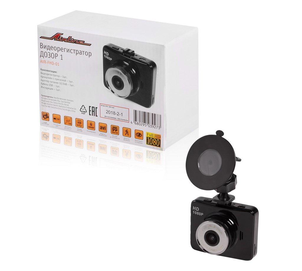 Видеорегистратор FHD 1080p ДОЗОР 1 (AVR-FHD-01) видеорегистратор fhd 1080p цена