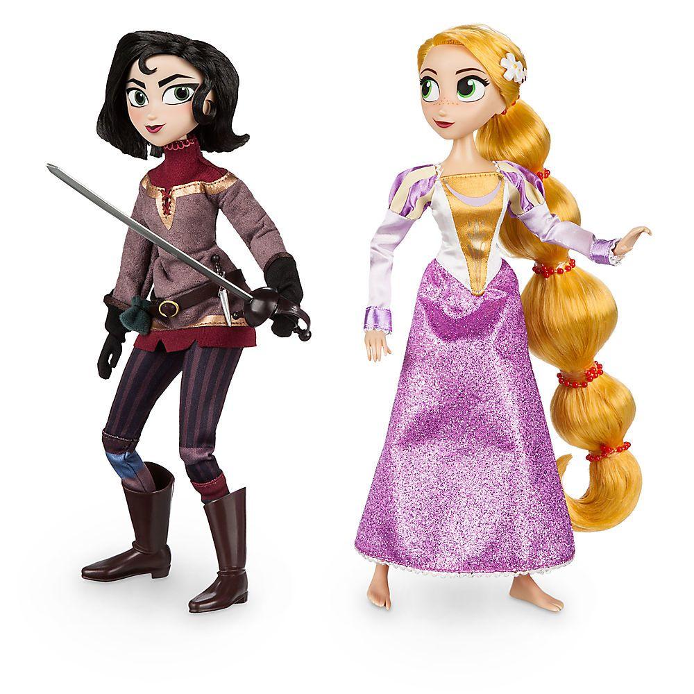 Кукла Disney принцесса Рапунцель и Кассандра дорога к мечте дисней принцесса аппликация из пайеток рапунцель в пакете 25 17 5см арт 03191