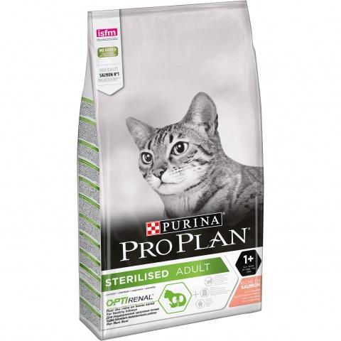 Pro Plan корм для взрослых стерилизованных кошек всех пород, лосось (1,5 кг) 0259 gipfel лопатка силиконовая