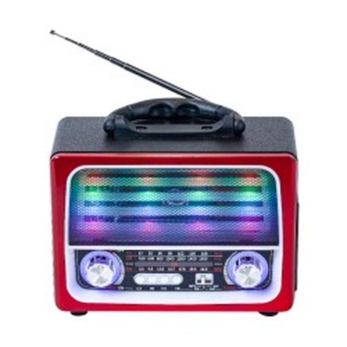 Радиоприемник MAX MR 390, красный