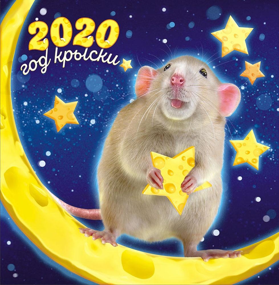 Открытки с новым годом 2020 крыса