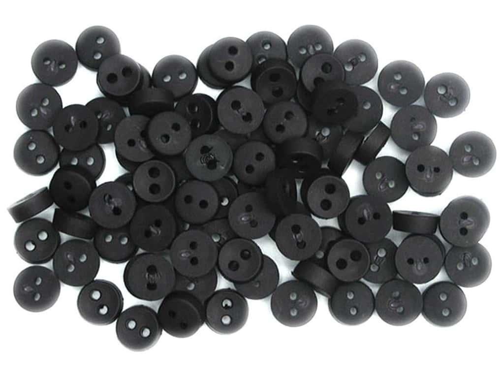 Пуговицы Jesse James - Tiny black button