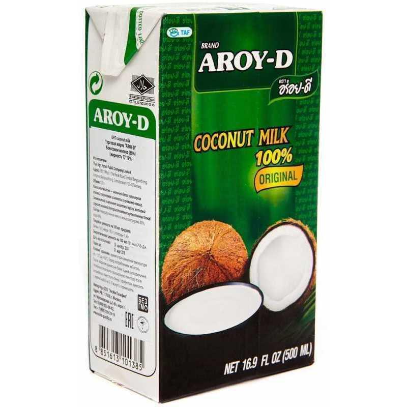 Молоко Aroy-D кокосовое, 500г