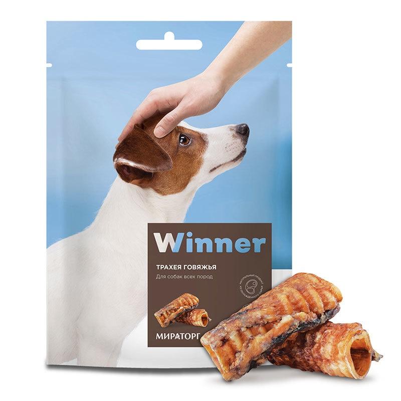 Winner лакомство для взрослых собак всех пород, трахея говяжья (50 гр)