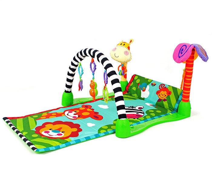 Коврик развивающий игровой Веселый зоопарк