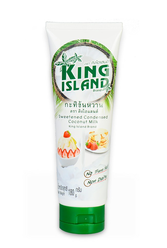 Сгущенное кокосовое молоко KING ISLAND, 180 г