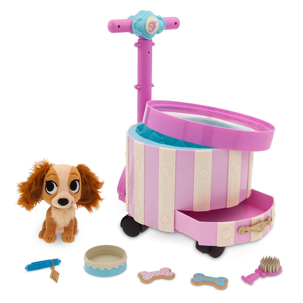 Игровой набор Леди и Бродяга Disney Furrytale Friends собачка Леди фигурка декоративная disney леди и бродяга 16 5 см