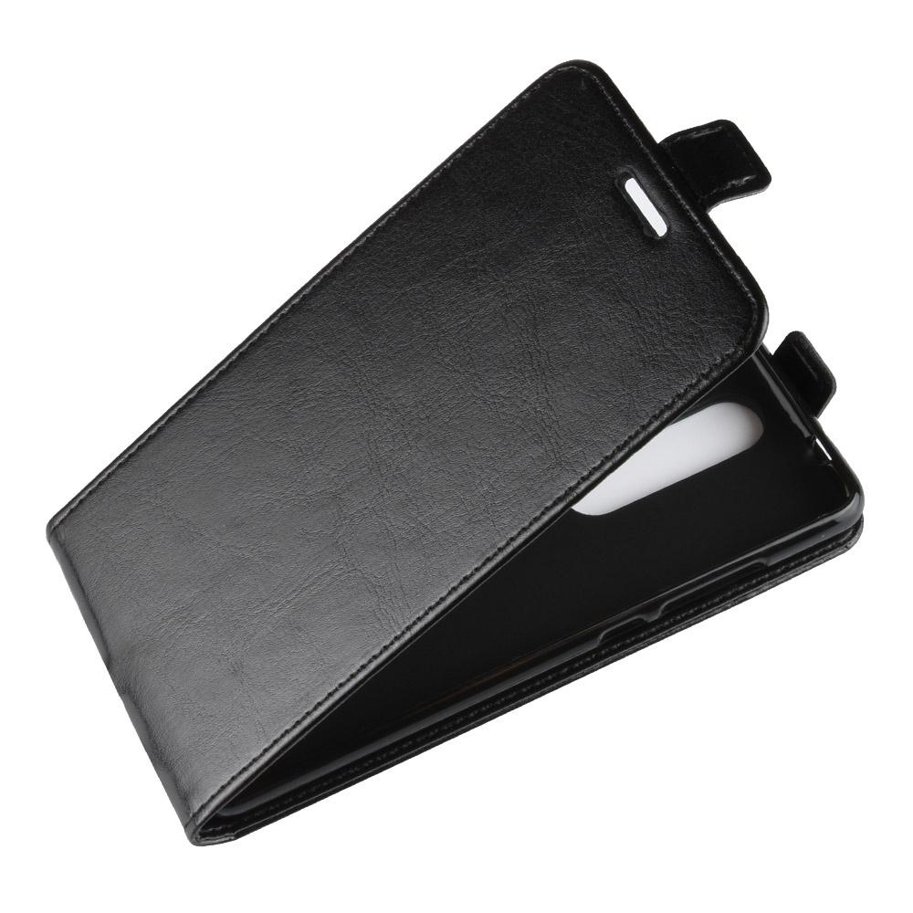 Чехол-флип MyPads для Nokia 5.1 вертикальный откидной черный