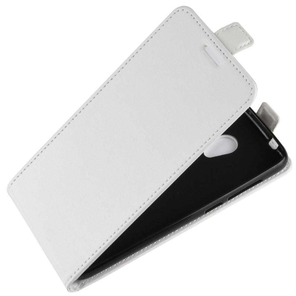 Чехол-флип MyPads для Alcatel 1X 5059D вертикальный откидной белый смартфон alcatel 1x 5059d black