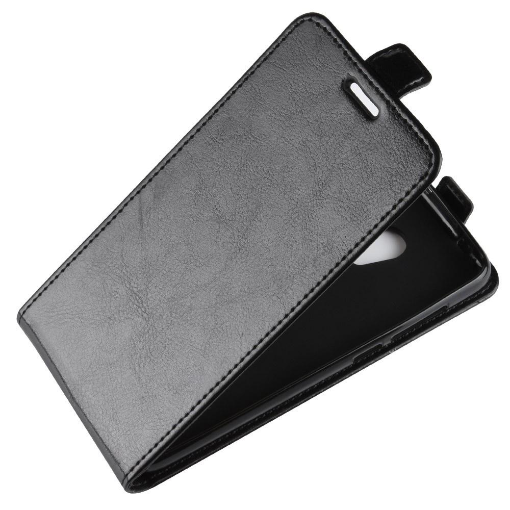Чехол-флип MyPads для Alcatel 1X 5059D вертикальный откидной черный