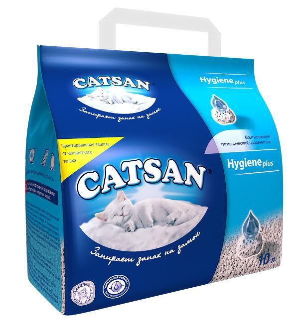 цена на Комкующийся гигиенический наполнитель Catsan для кошек (5 л)