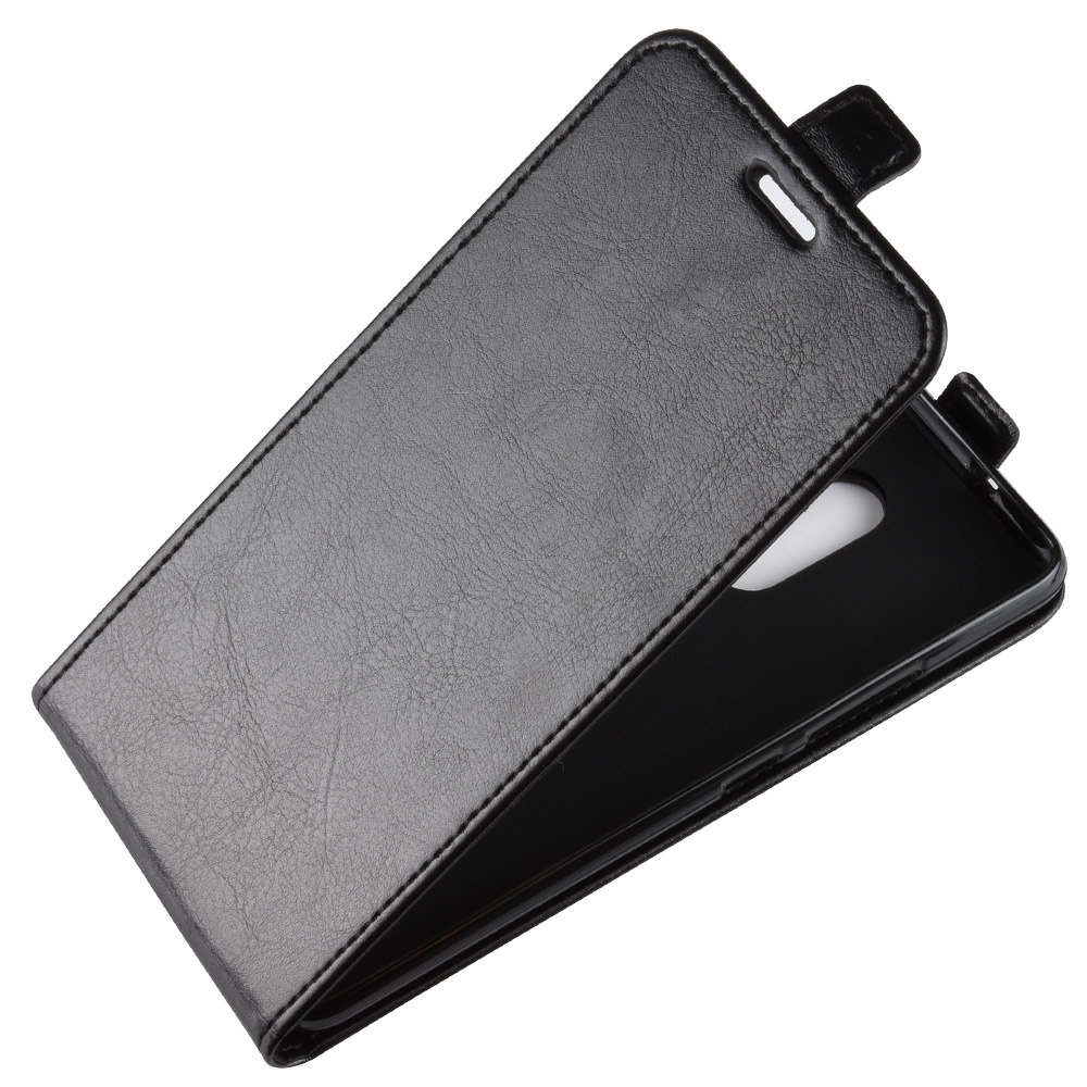 Чехол-флип MyPads для Alcatel 3C 5026D вертикальный откидной черный