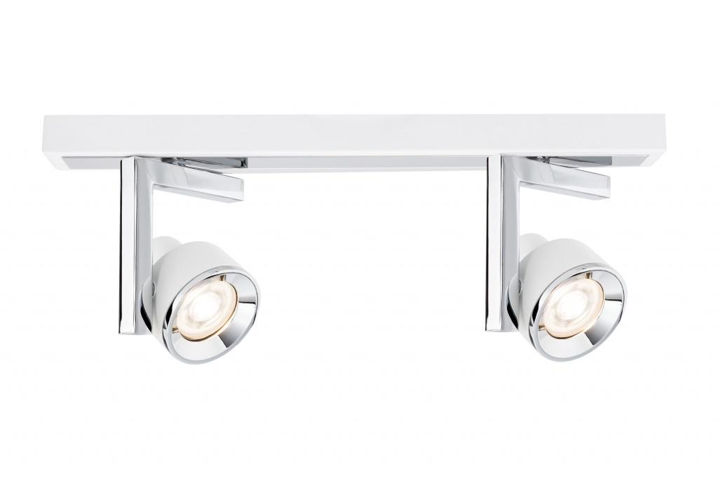 цена на Потолочный светильник Spotlight Turn max2x10W GU10 Ws/Chr Mt