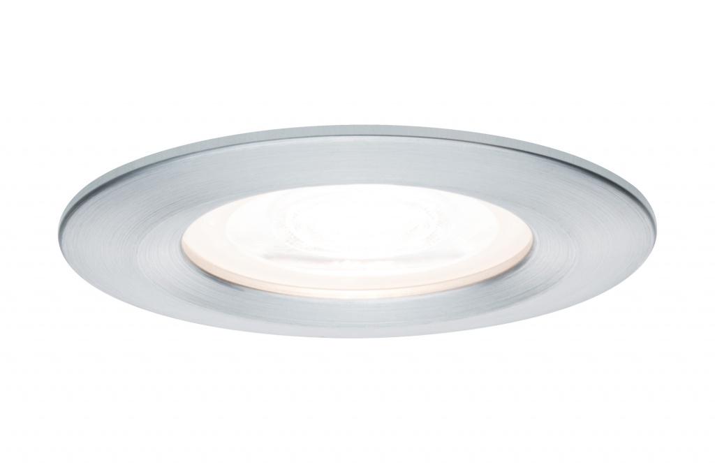 Встраиваемый светильник Nova rd LED 3x_W Alu gedr / Alu точечный светильник donolux sa1522 alu