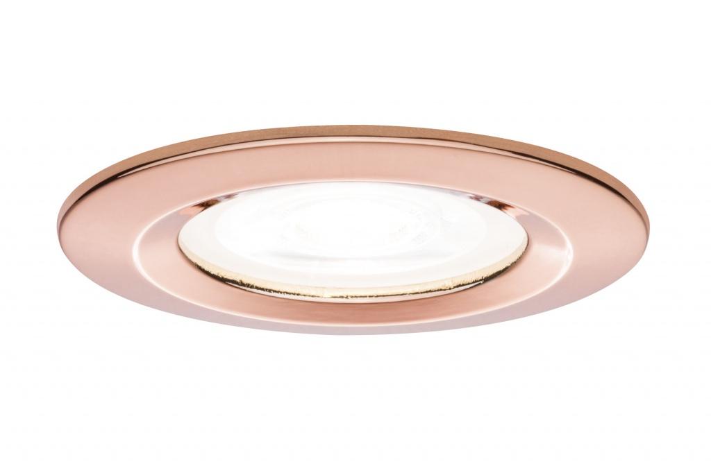 Встраиваемый светильник Prem EBL Nova rd dim LED 3x_W Rosegold