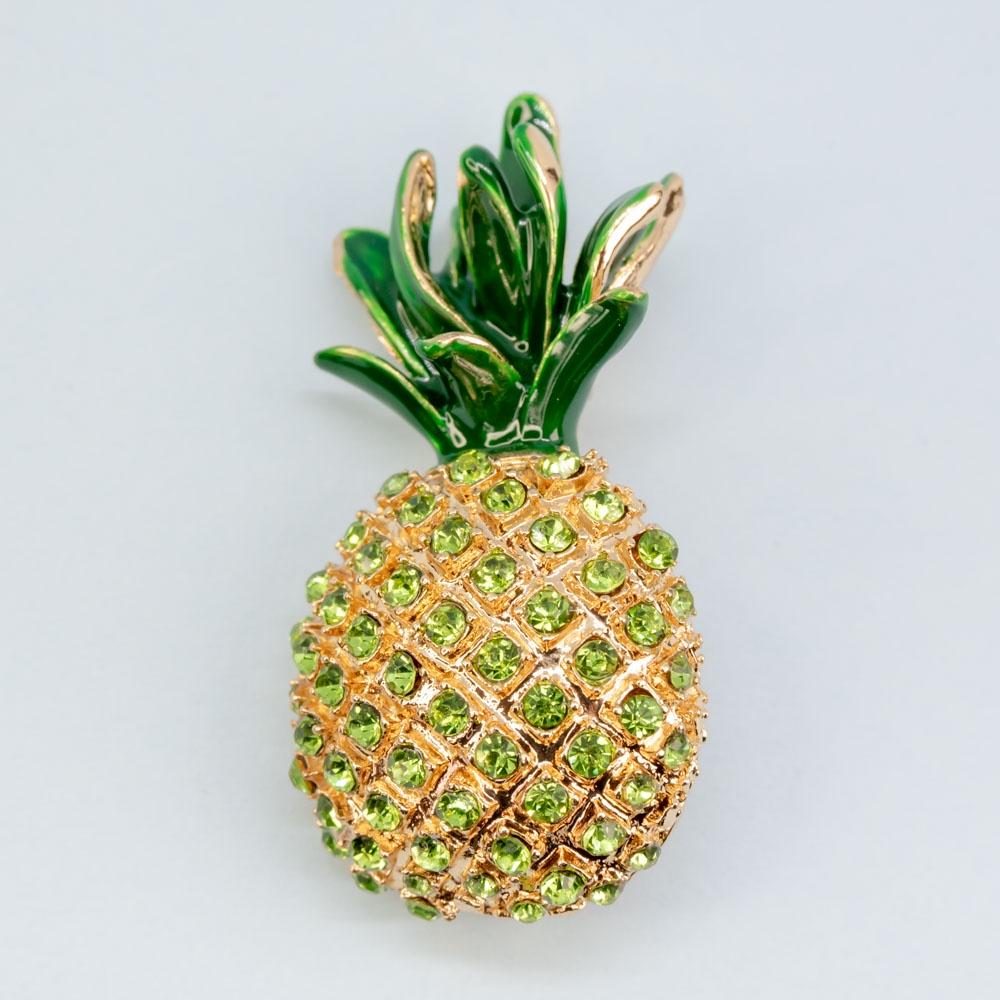 Брошь бижутерная OTOKODESIGN брошь markov design ананас