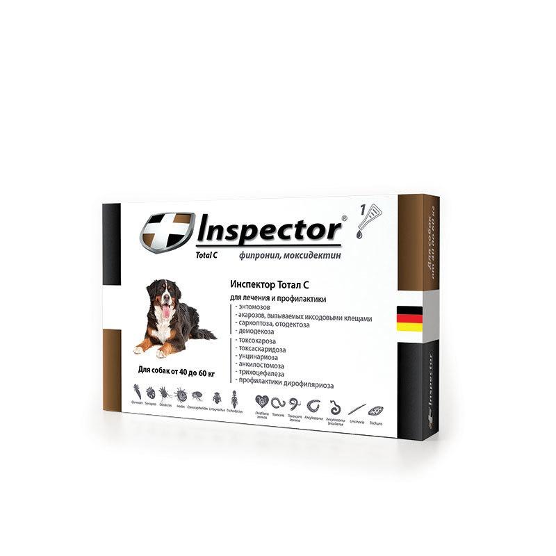 InspectorКапли для собак 40-60 кг Inspector
