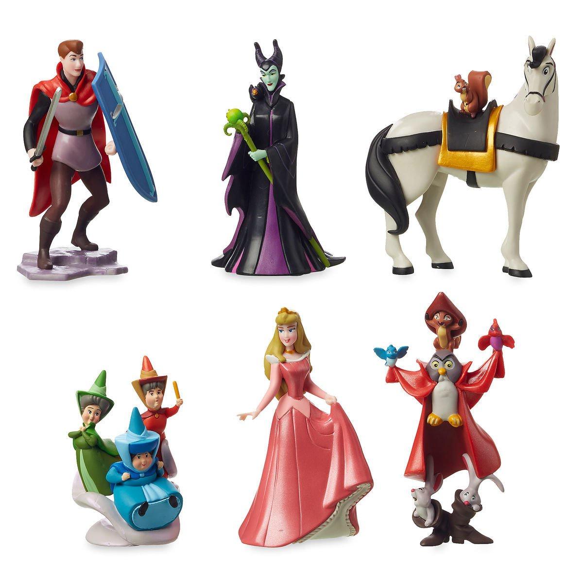 Фото - Игровой набор фигурок Disney Аврора Спящая Красавица Дисней набор кофейной посуды disney принцесса аврора