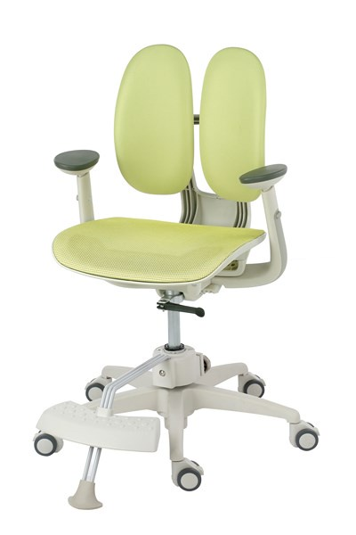 Кресло Duorest Kids ORTO ai-50 Mesh (цвет обивки: зеленый, цвет каркаса: белый)