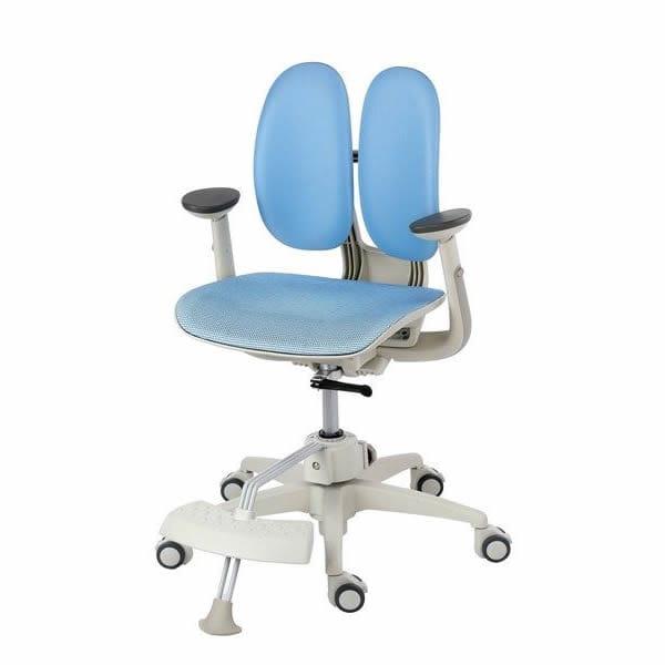 Кресло Duorest Kids ORTO ai-50 Mesh (цвет обивки: голубой, цвет каркаса: белый)