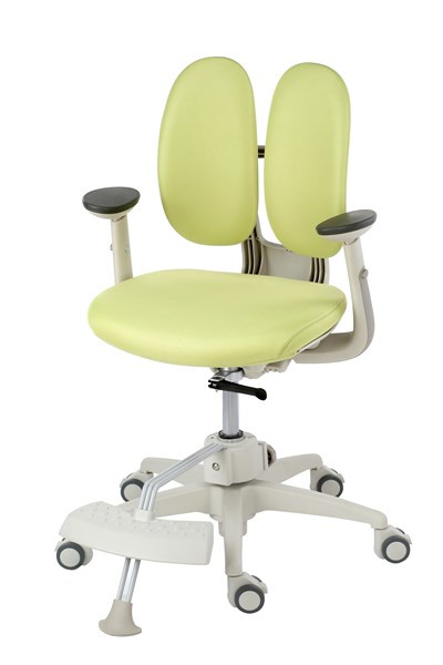 Кресло Duorest KIDS ORTO ai-50 SPONGE (цвет обивки: зеленый, цвет каркаса: белый)