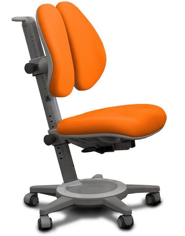 Кресло Mealux Cambridge Duo (цвет обивки: оранжевый, цвет каркаса: серый)