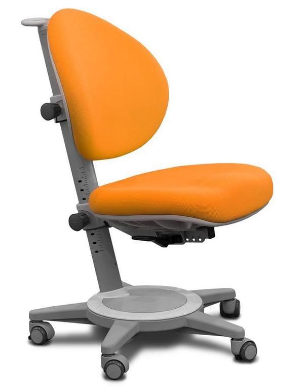 Кресло Mealux Cambridge (цвет обивки: оранжевый, цвет каркаса: серый)