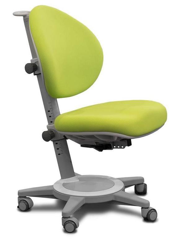 Кресло Mealux Cambridge (цвет обивки: зеленый, цвет каркаса: серый)