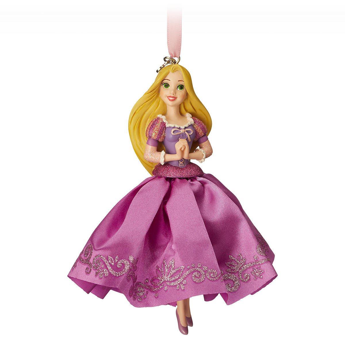 Елочная игрушка Принцессы Дисней Рапунцель игрушка hasbro disney princess кукла принцесса дисней рапунцель и фонарики