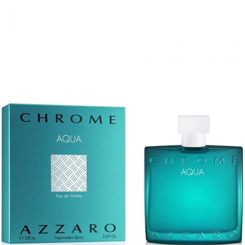 Azzaro chrome aqua eau de toilette 100 мл