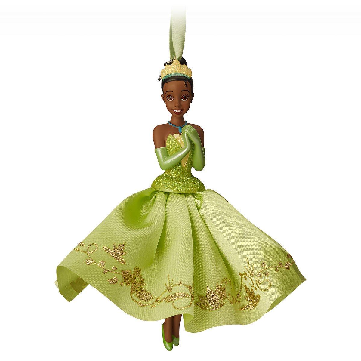 Елочная игрушка Дисней Тиана принцесса и лягушка