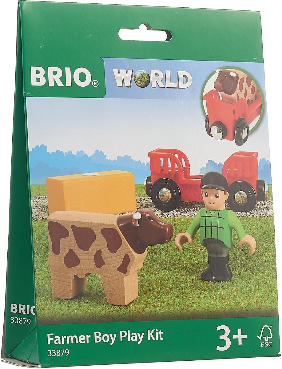 Игровой набор Brio Мальчик на ферме, 33879