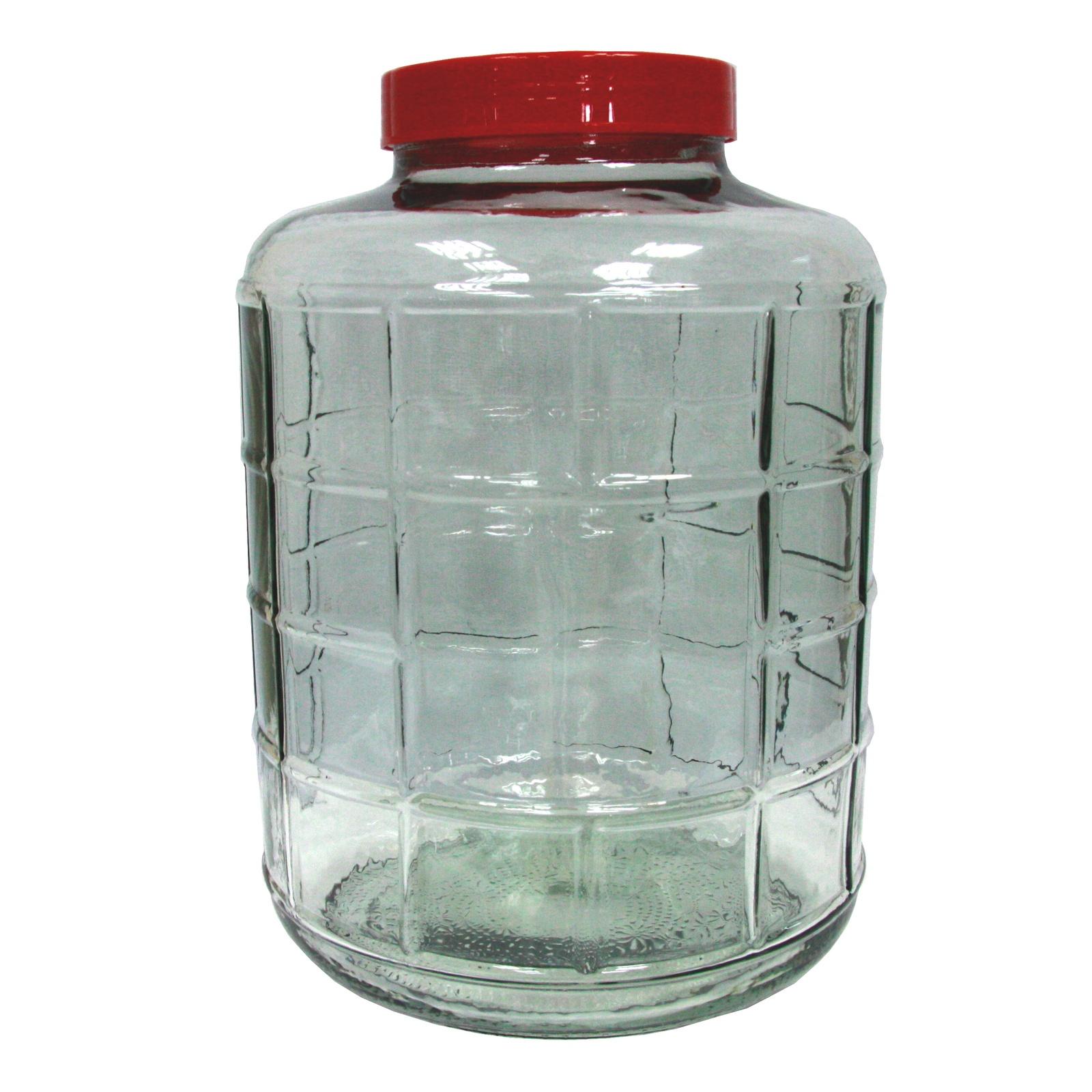 Бутыль 18л с крышкой-гидрозатвором