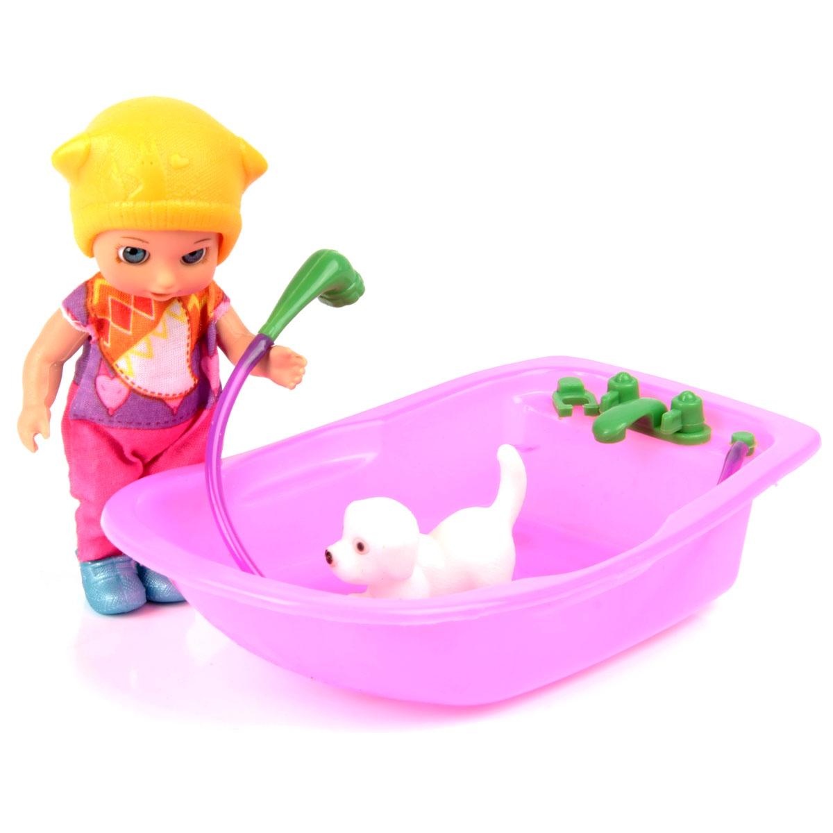 Кукла Изабелла veld co кукла цвет одежды бежевый розовый
