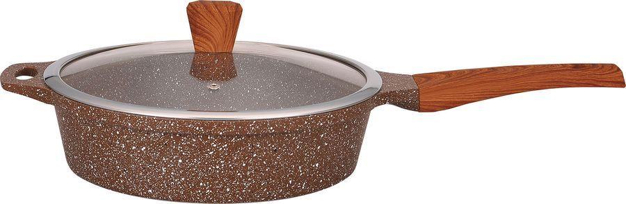 Сотейник Winner, 28 см. Marble Luxury с мраморным покрытием