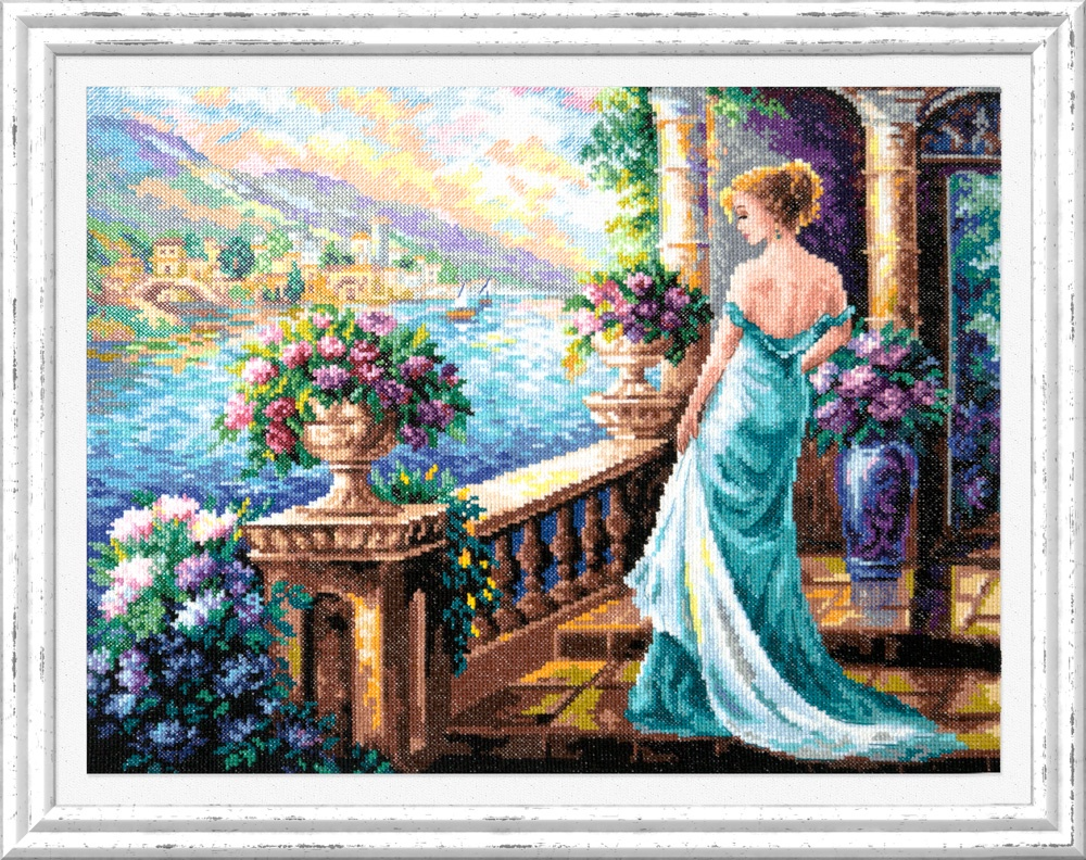 Моя Богиня!. Набор для вышивания крестом (Чудесная игла) 40 х 32 см. набор для вышивания крестом чудесная игла у самовара 34 х 40 см